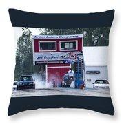 Dodge Omni Glh Vs Rwd Dodge Shadow - 03 Throw Pillow