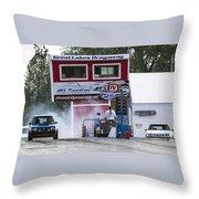 Dodge Omni Glh Vs Rwd Dodge Shadow - 04 Throw Pillow