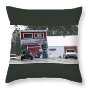 Dodge Omni Glh Vs Rwd Dodge Shadow - 06 Throw Pillow