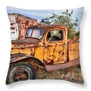 Dodge Power Wagon Wrecker Throw Pillow
