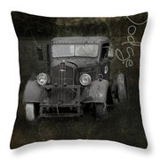 Dodge Take Life By The Horns Throw Pillow