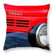 Dodge Truck Throw Pillow