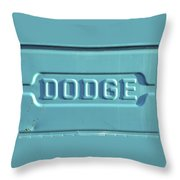 Dodge Truck Tailgate Throw Pillow