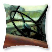 Dodge Truck Throw Pillow
