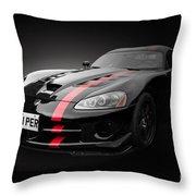 Dodge Viper Srt Throw Pillow