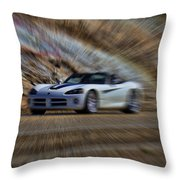 Dodge Viper V3 Throw Pillow