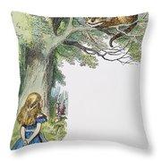 Dodgson: Alice, 1865 Throw Pillow