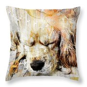 Dog 391-08-13 Marucii Throw Pillow