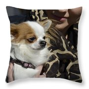 Dog And True Friendship 2 Throw Pillow