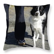 Dog And True Friendship 9 Throw Pillow