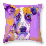 Dog Charlie Throw Pillow