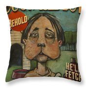 Dog Faced Boy Poster Throw Pillow