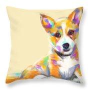 Dog Jerry Throw Pillow