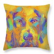 Dog Noor Throw Pillow