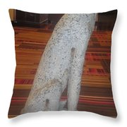 Dog Pet Man's Best Friend Throw Pillow by Navin Joshi