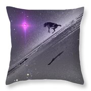 Dog Star Throw Pillow