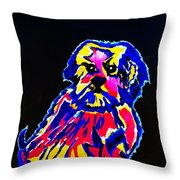 Dog Tibetin Lhasa Apsos  Throw Pillow