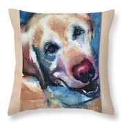 Doggie Breath Throw Pillow