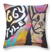 Doggy Style 1 Throw Pillow