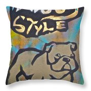Doggy Style 3 Throw Pillow
