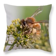 Doing The Work Of God Throw Pillow