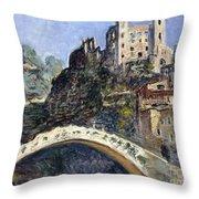 Dolceacqua Throw Pillow