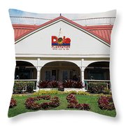 Dole Plantation 3 Throw Pillow