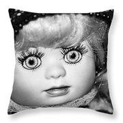 Doll 11 Throw Pillow