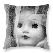 Doll 13 Throw Pillow