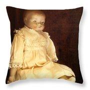 Doll Shop Throw Pillow