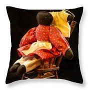 Dolls Throw Pillow