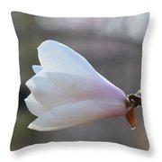Dolly Horn Magnolia 2 Throw Pillow