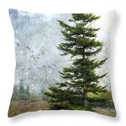 Dolly Sods Pine Throw Pillow