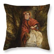 Dolly Vardon Throw Pillow