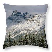 1m3538-dolomite Peak Throw Pillow