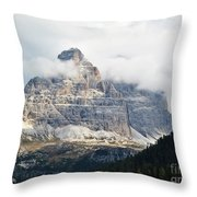 Dolomites Of Italy Throw Pillow