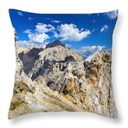 Dolomiti - Costabella Mount Throw Pillow