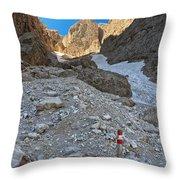 Dolomiti - Val Setus Throw Pillow