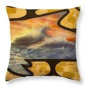 Dolphin Dream I Throw Pillow
