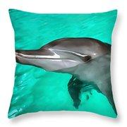 Dolphin Throw Pillow