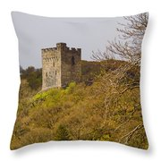 Dolwyddelan Castle Throw Pillow