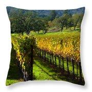Domaine Chandon Vineyard Throw Pillow