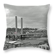 Dome And Bridge Throw Pillow