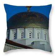 Dome At St Sophia Throw Pillow