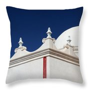 Dome At The Mission Throw Pillow