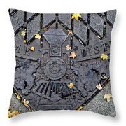 Dome District Throw Pillow