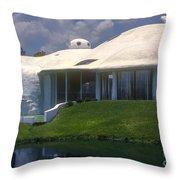 Dome Home Throw Pillow
