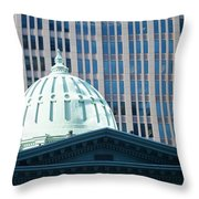 Dome Of Art Museum  Throw Pillow