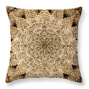 Dome Of The Hall Of The Two Sisters Throw Pillow