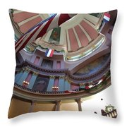Dome Of The Old Courthouse Throw Pillow